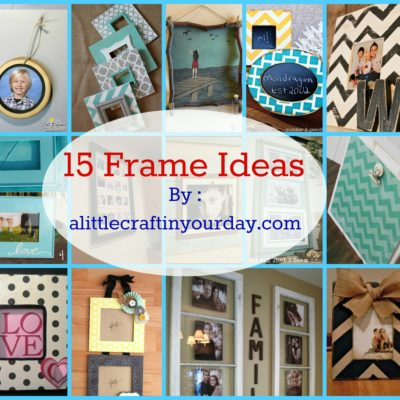 14 Photo Frame Ideas