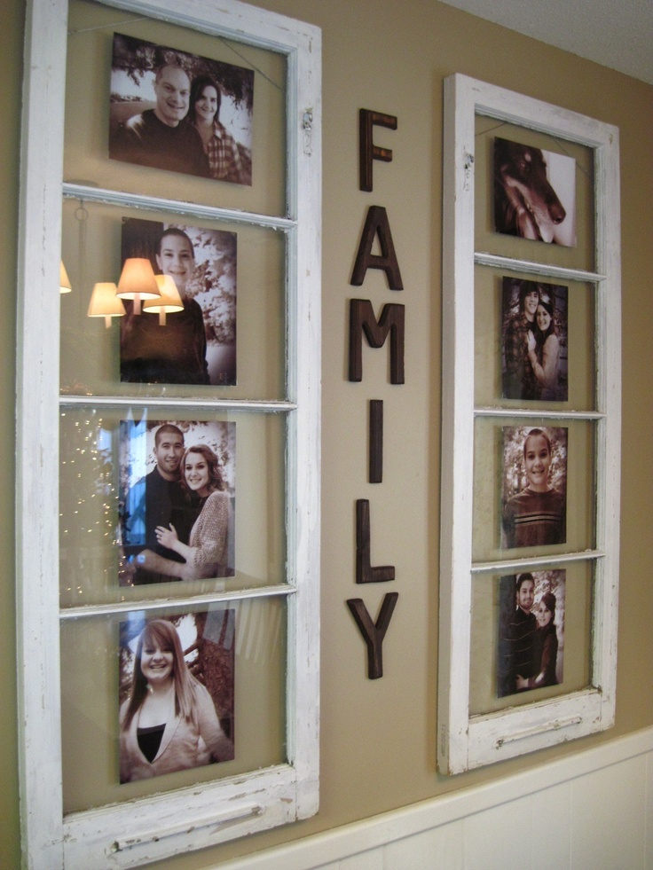 14 photo frame ideas a little craft in your daya little - Picture frame ideas on wall ...