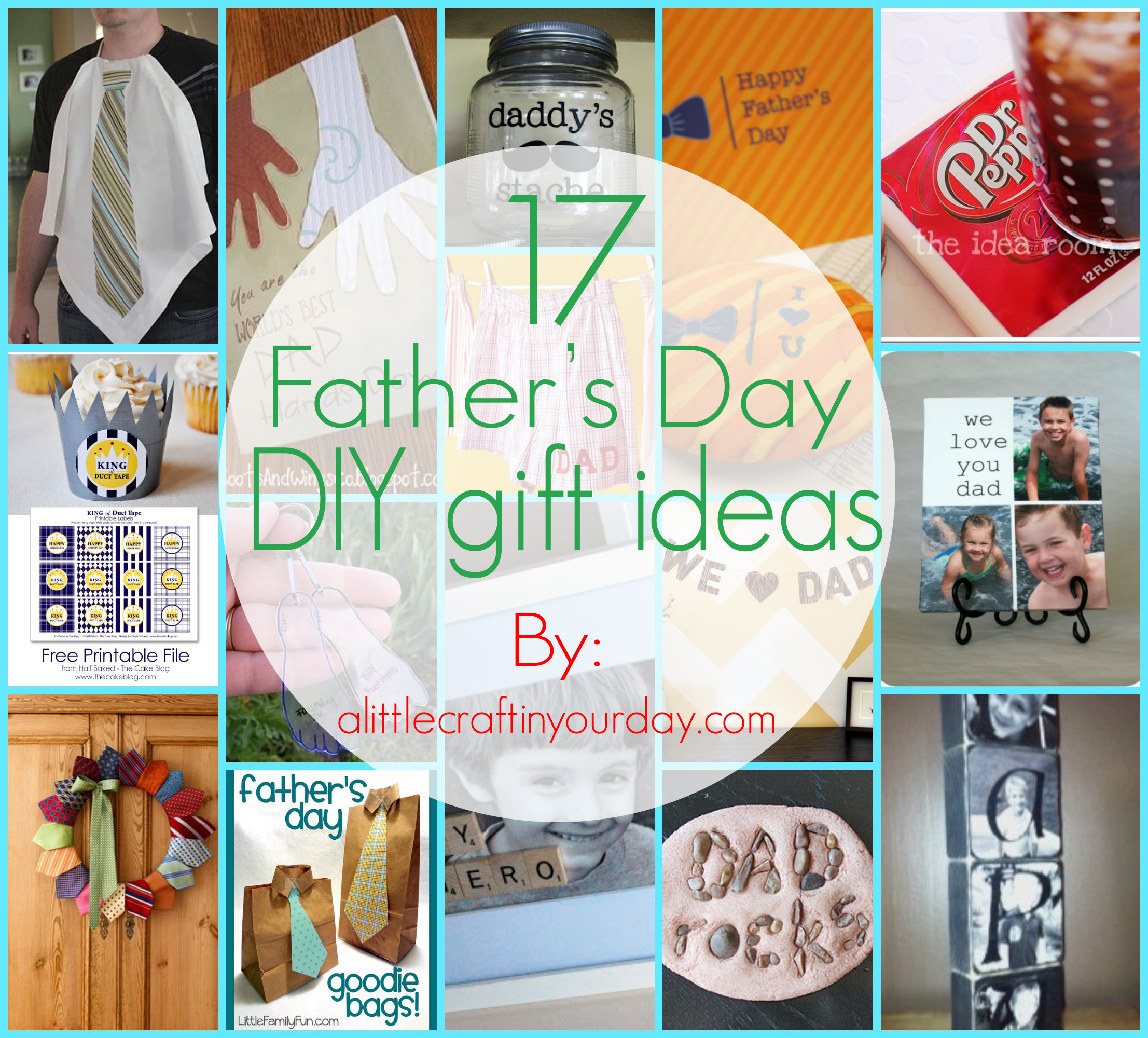 17 fathers day diy gifts a little craft in your day for Last minute diy birthday gifts for dad