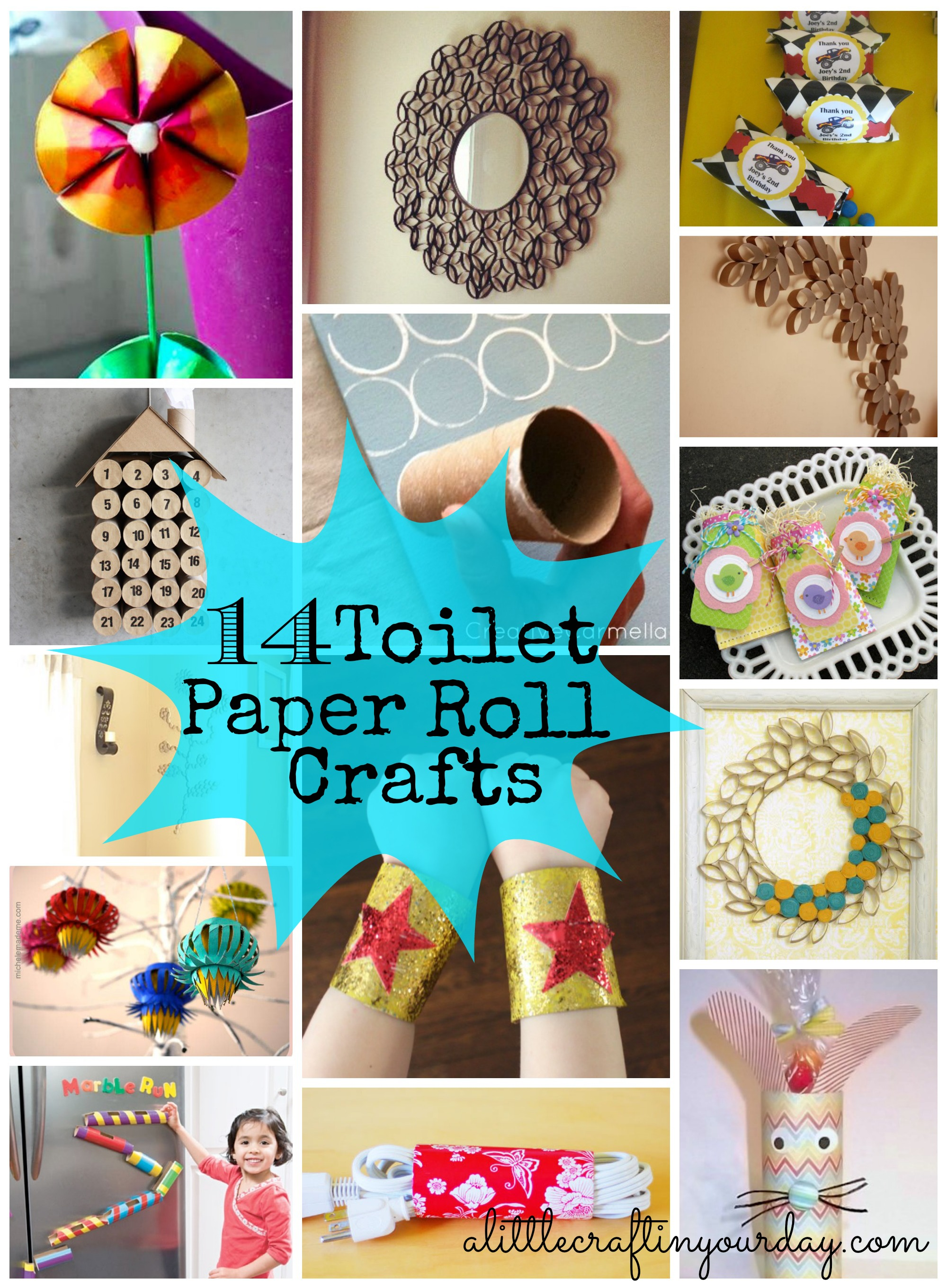 14 toilet paper roll crafts a little craft in your day for Crafts to make out of toilet paper rolls