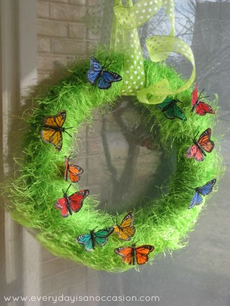 how to make bird seed wreaths with lard