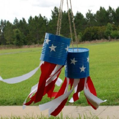 Patriotic Tin Can Windsocks thumbnail