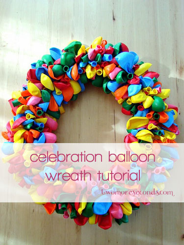 ballon wreath