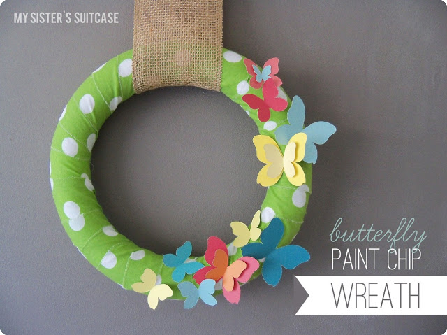 paint+chip+wreath
