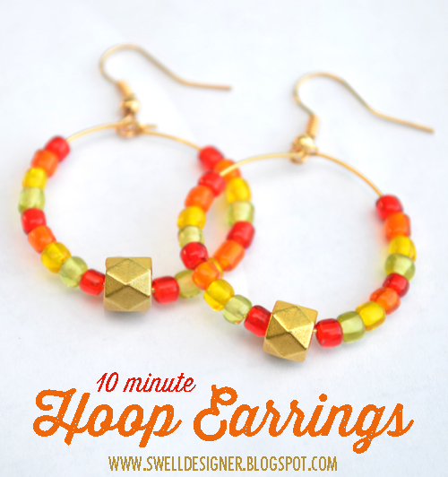 10-minute-hoop-earrings