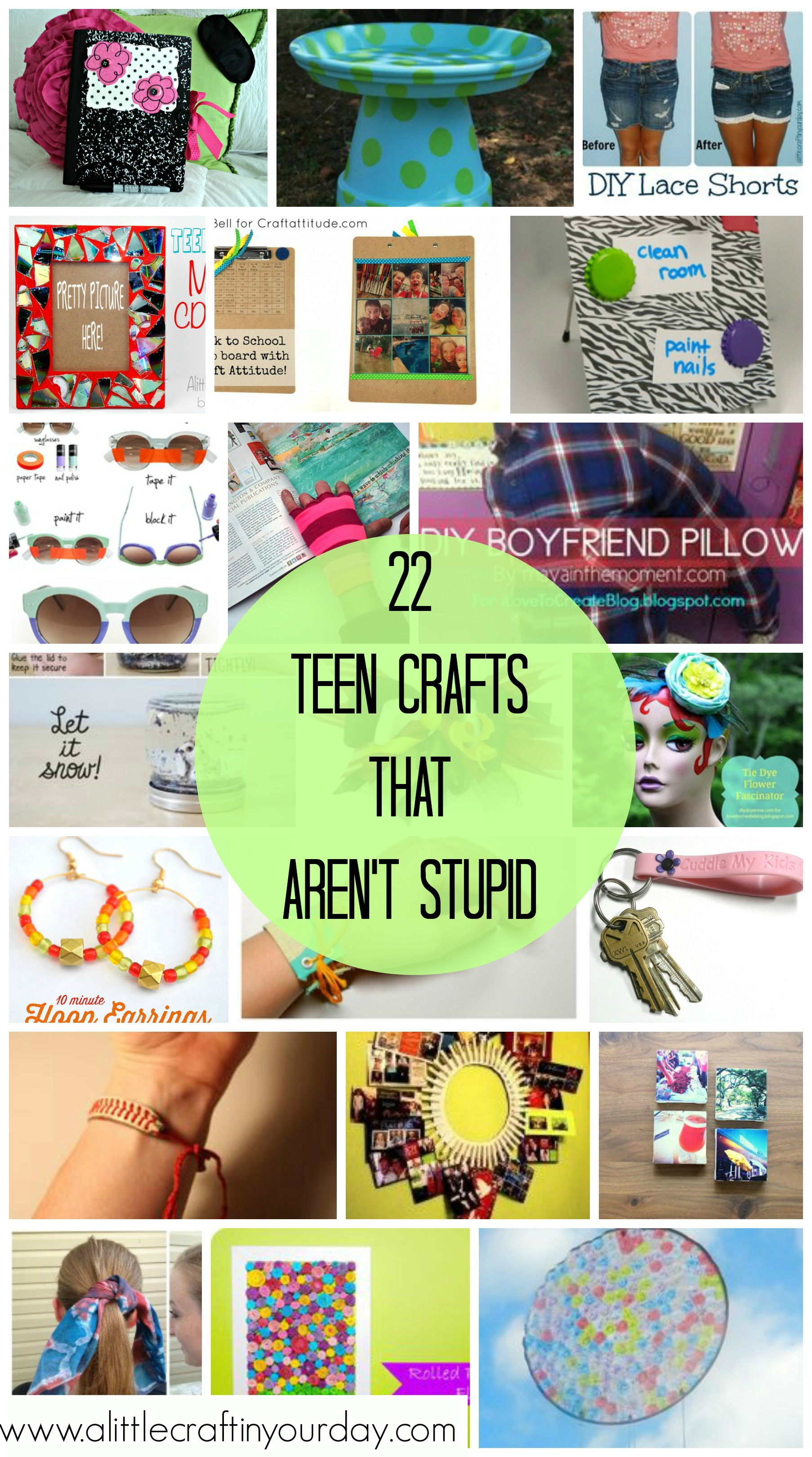 Teen Crafts That Aren T Stupid A Little Craft In Your Day