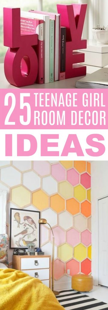 25 teenage girl room decor ideas a little craft in your day - Teen girl room decor ...