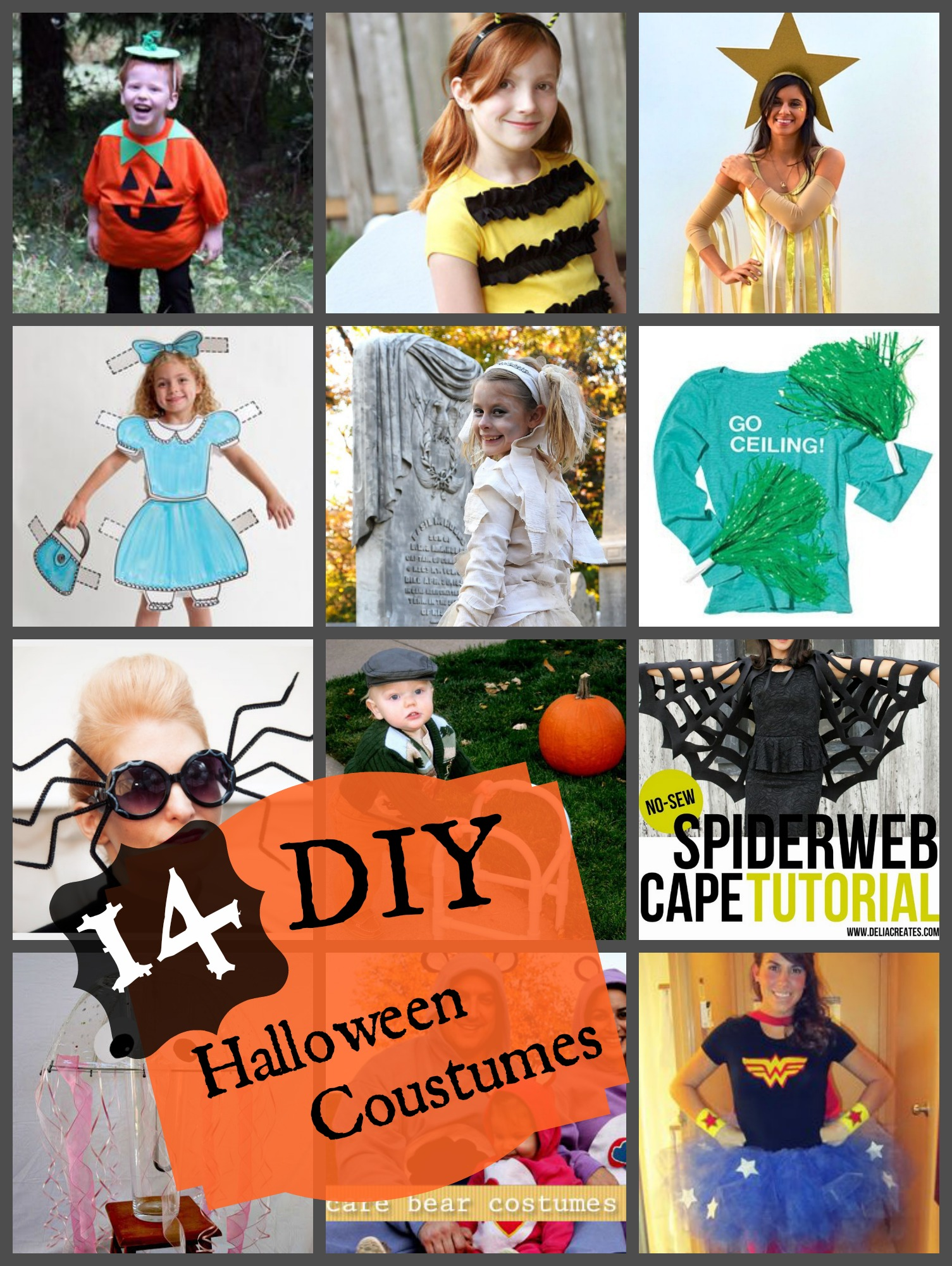 14 DIY Halloween Costumes - A Little Craft In Your DayA Little Craft