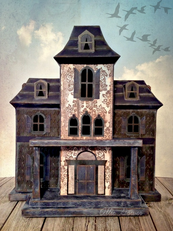 3d Haunted House A Little Craft In Your Day