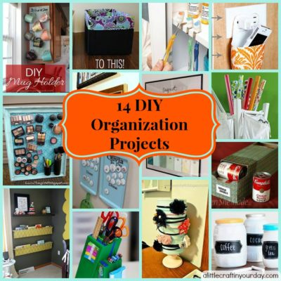 14 DIY Organization Projects thumbnail