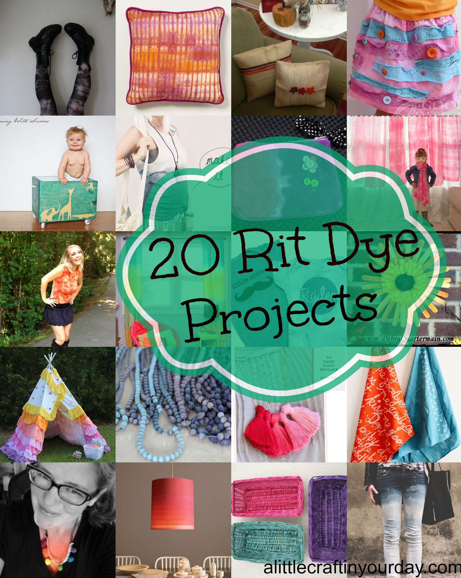 20 Rit Dye Projects A Little Craft In Your Daya Little
