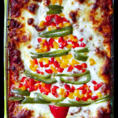 Christmas Tree Lasagna thumbnail