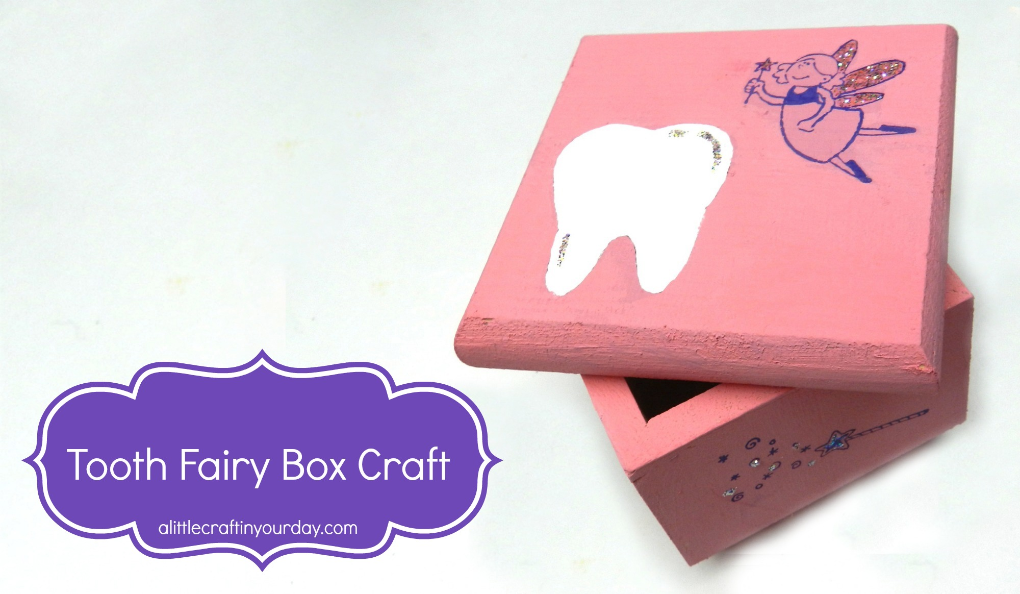Tooth fairy box craft - 12 31 Tooth Box Craft