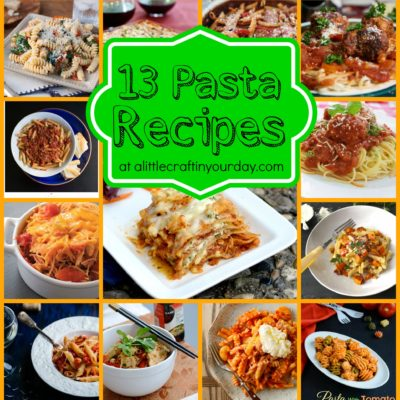 13 Pasta Recipes thumbnail