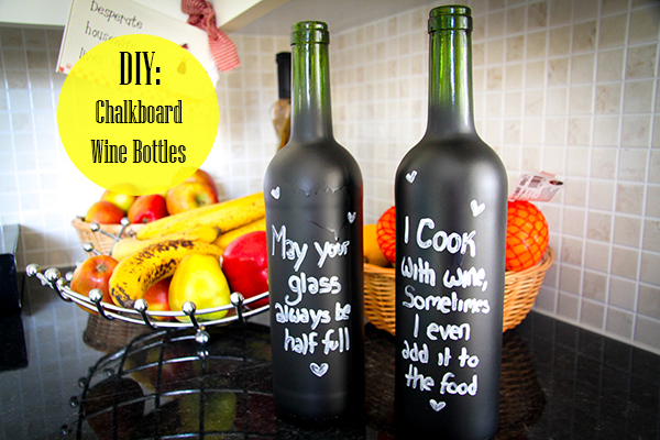15 Chalkboard Crafts A Little Craft In Your Daya Little