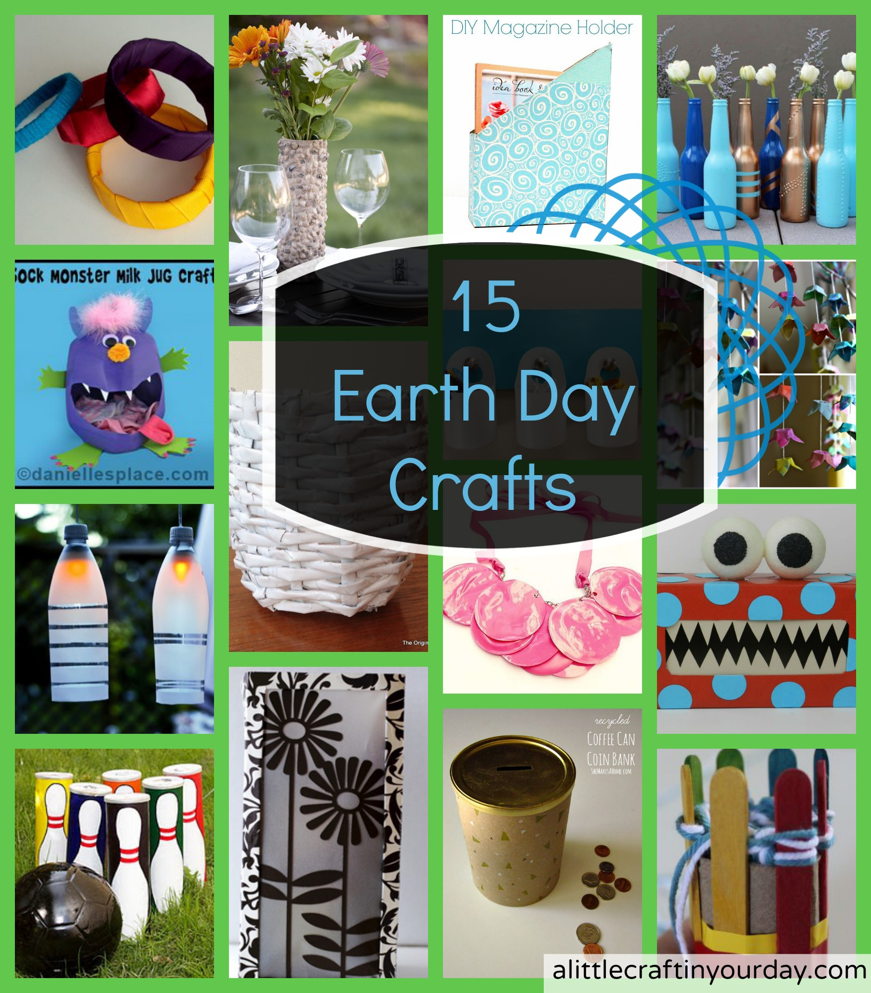 Earth Day Craft Ideas For Kids Part - 50: 4/30 | 15 Earth Day Crafts