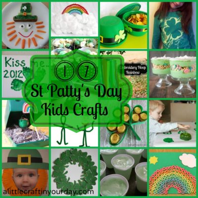 17 St Patty's Day Kid Crafts thumbnail