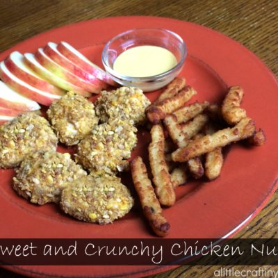 Sweet and Crunchy Chicken Nuggets thumbnail