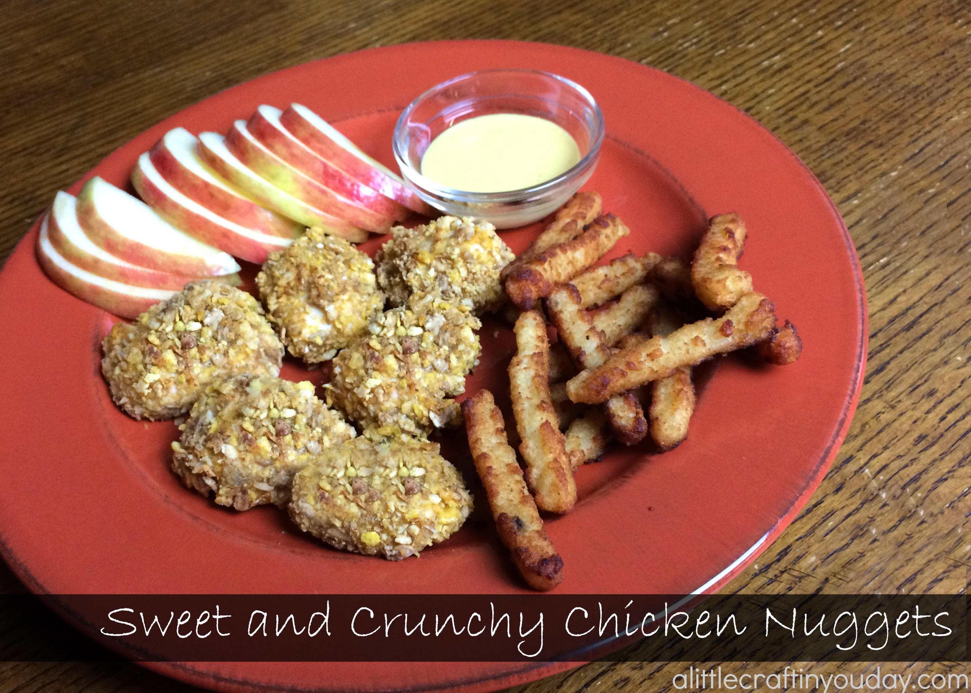 Sweet and Crunchy Chicken Nuggets