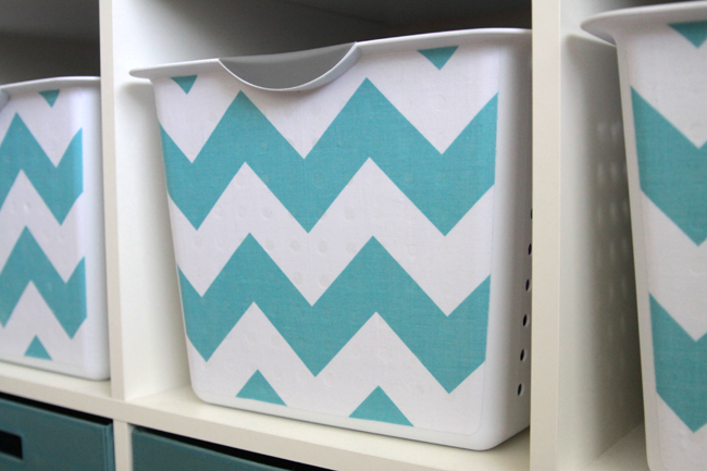fabric-covered-bins-shelves-organize