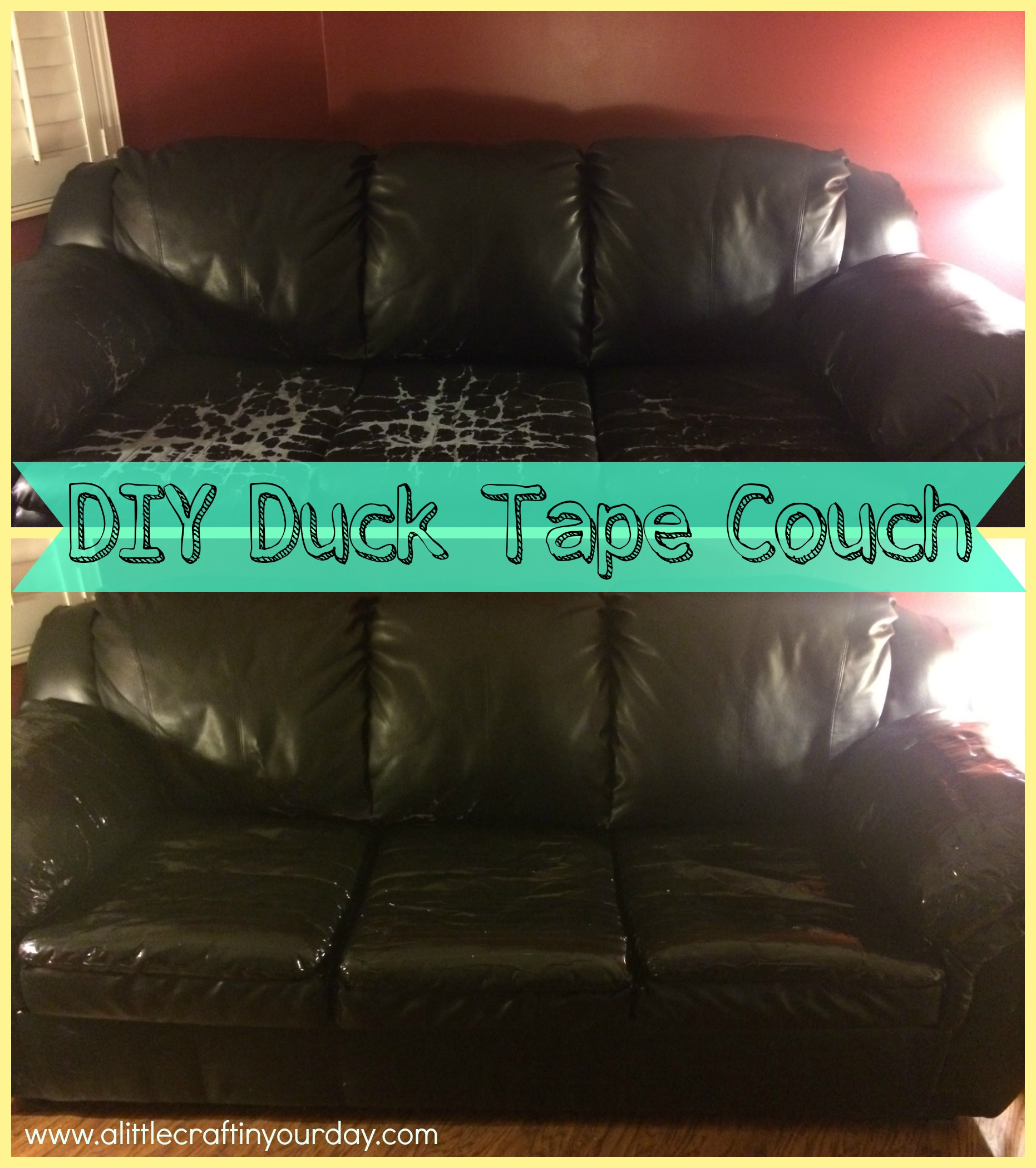 DIY_Duck_Tape_Couch