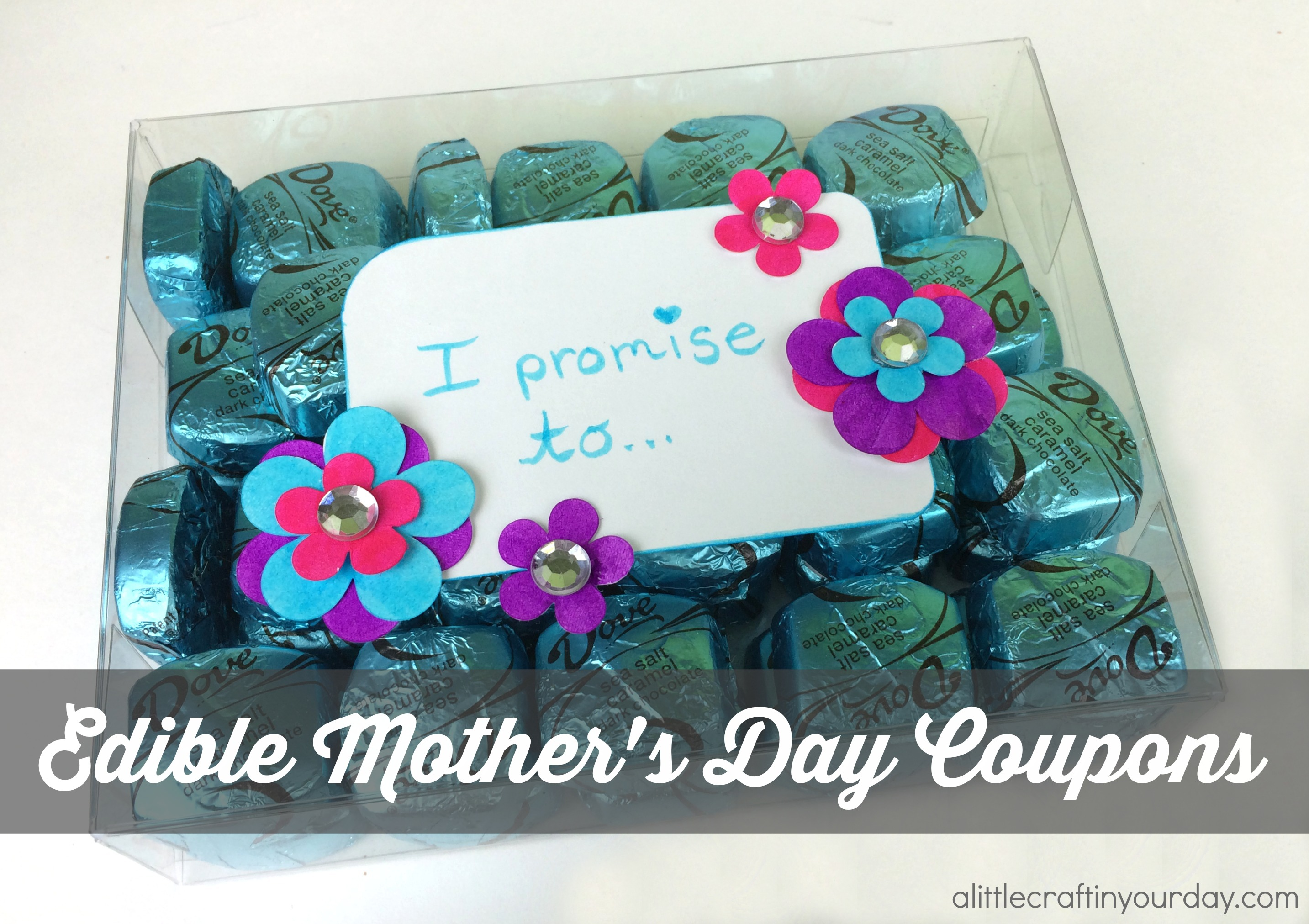 Edible Coupons For Mothers Day A Little Craft In Your Day