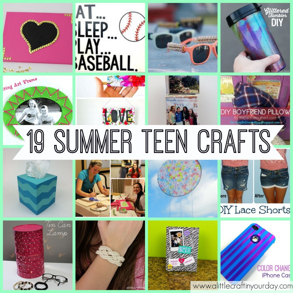 19 Teen Crafts For Summer