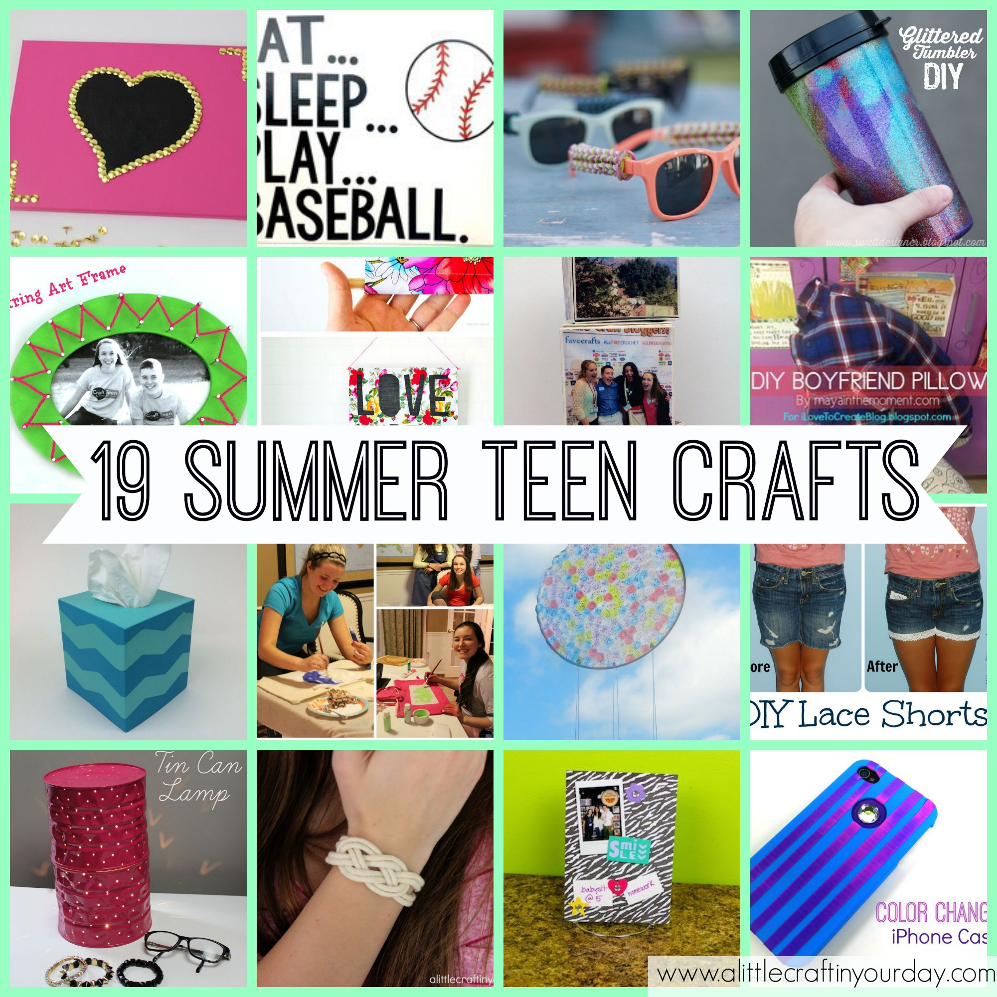 Easy Diy Projects For Home Decor 19 Teen Crafts For Summer A Little Craft In Your Day