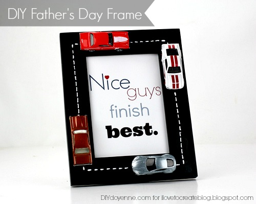 DIY Father's Day Frame Lightbox