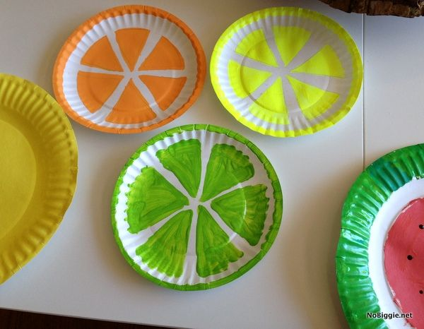 Fruit Basket Art And Craft : Summer kid crafts a little craft in your daya