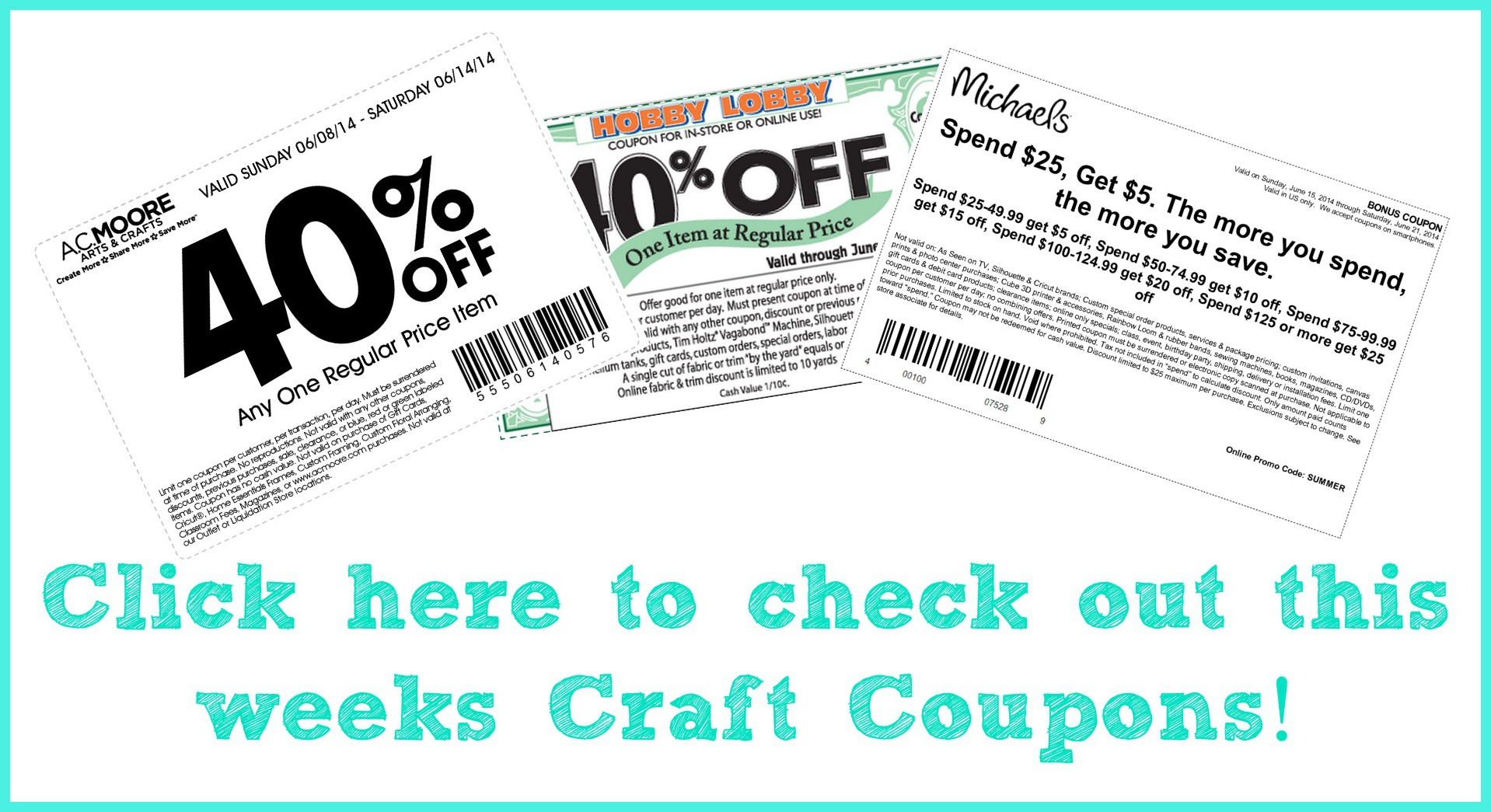 craft store coupons a little craft in your day