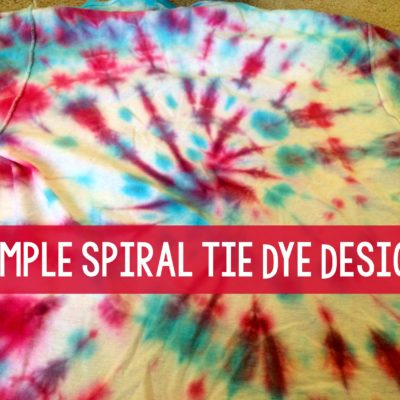 Spiral Tie Dye Design (16 Tie Dye Projects!) thumbnail