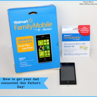 How to get your dad connected this Father's Day! #FamilyMobile thumbnail