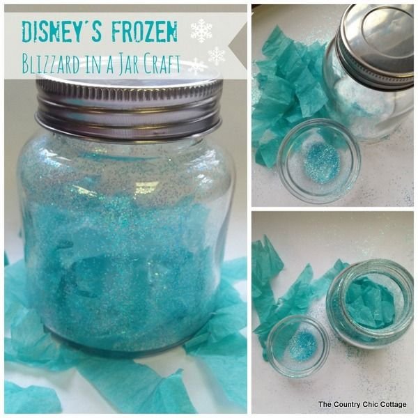 20 Frozen Crafts A Little Craft In Your Day