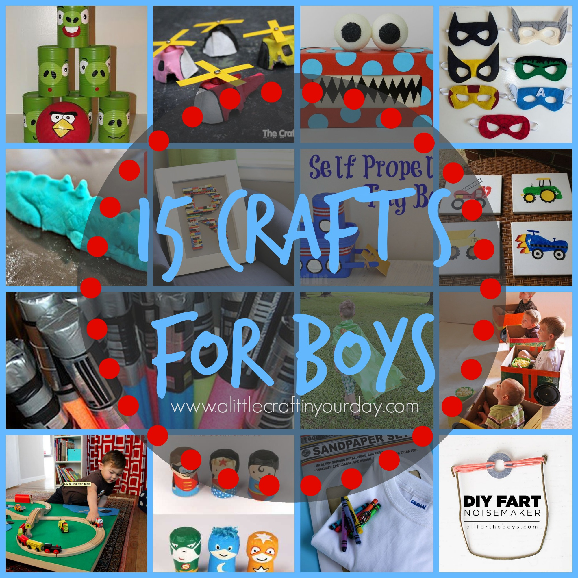 15 crafts for boys a little craft in your day