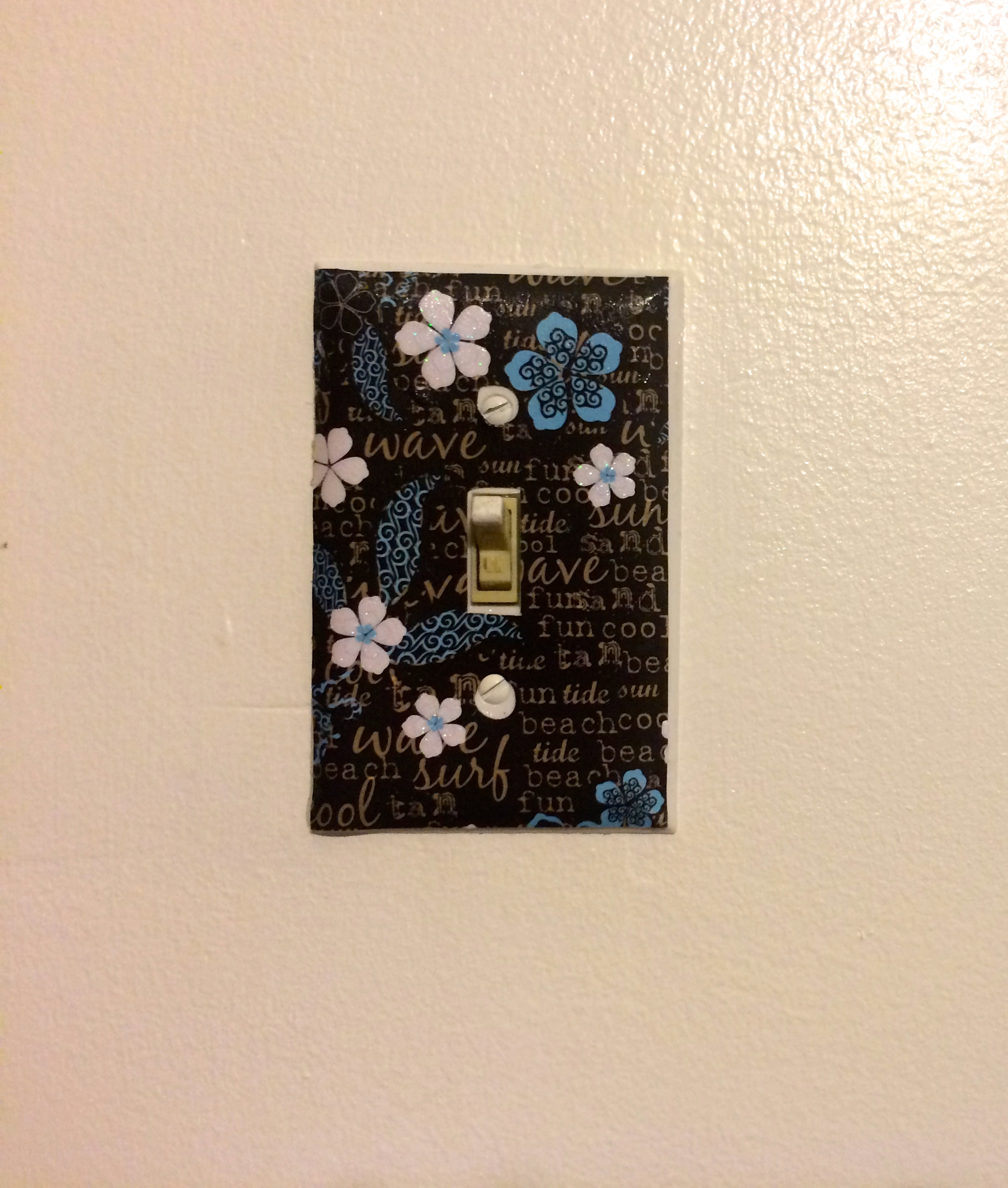 Diy custom light switch plates a little craft in your day