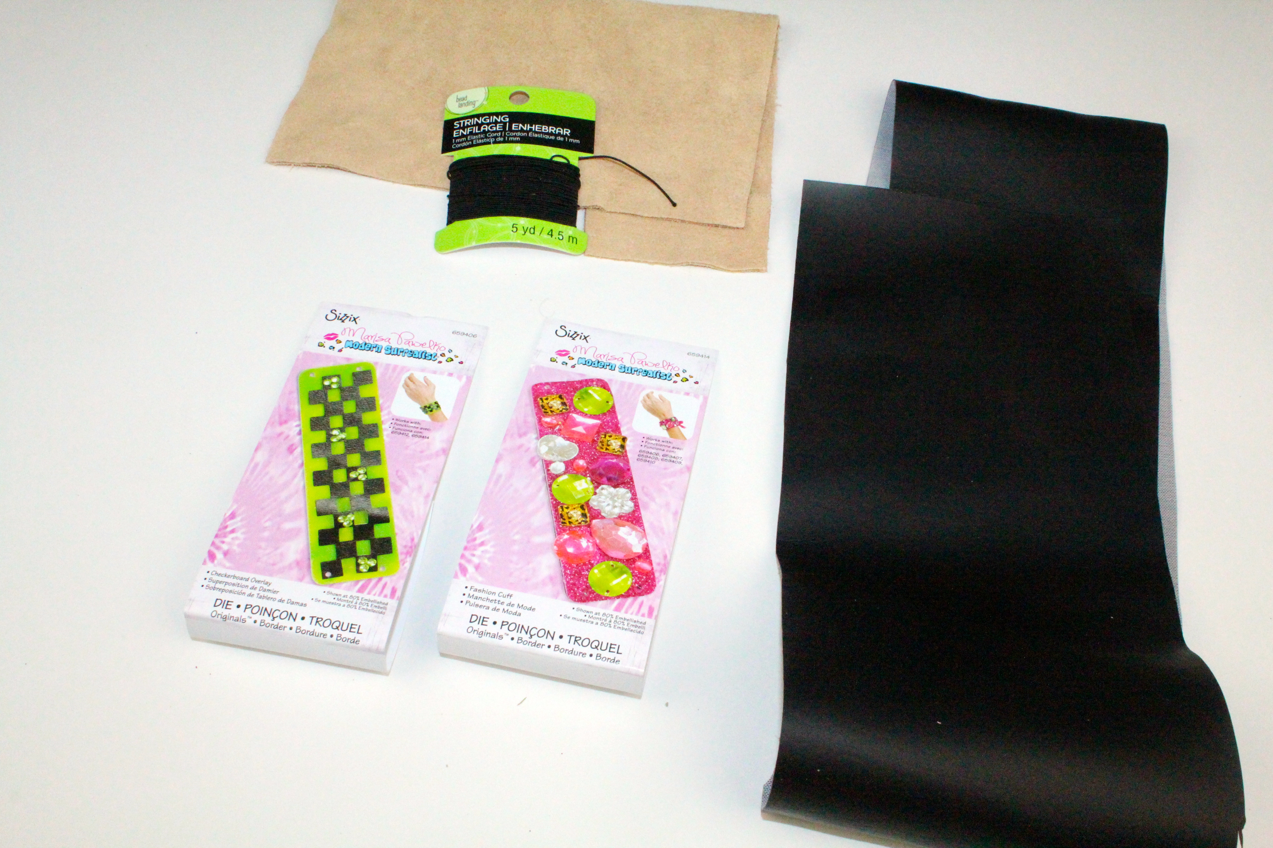 Diy cuff bookmark for any guy a little craft in your day for Diy bookmarks for guys