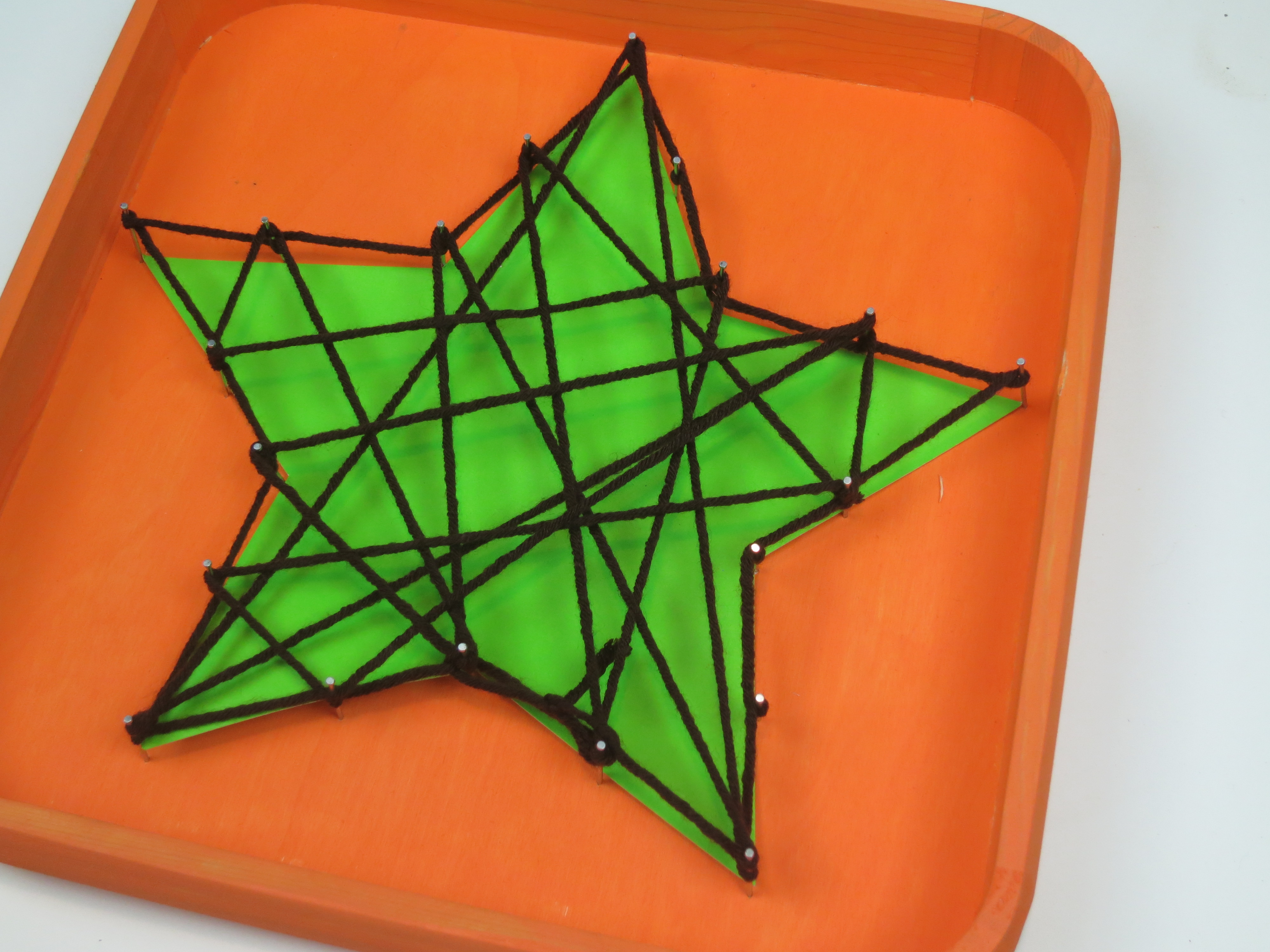 String art decor sizzix teen craft a little craft in for What can you make out of string