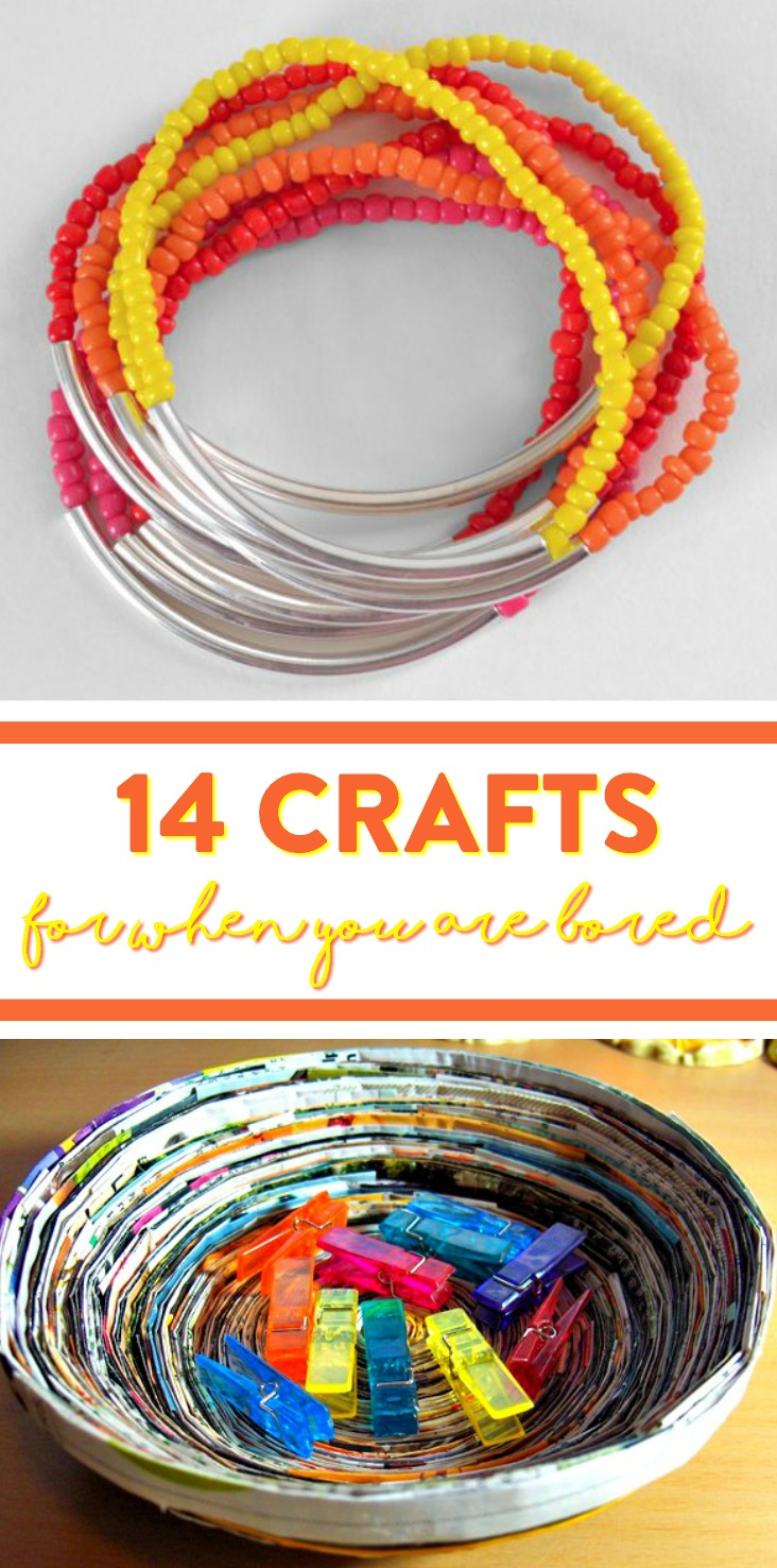 14 Craft For When You Are Bored A