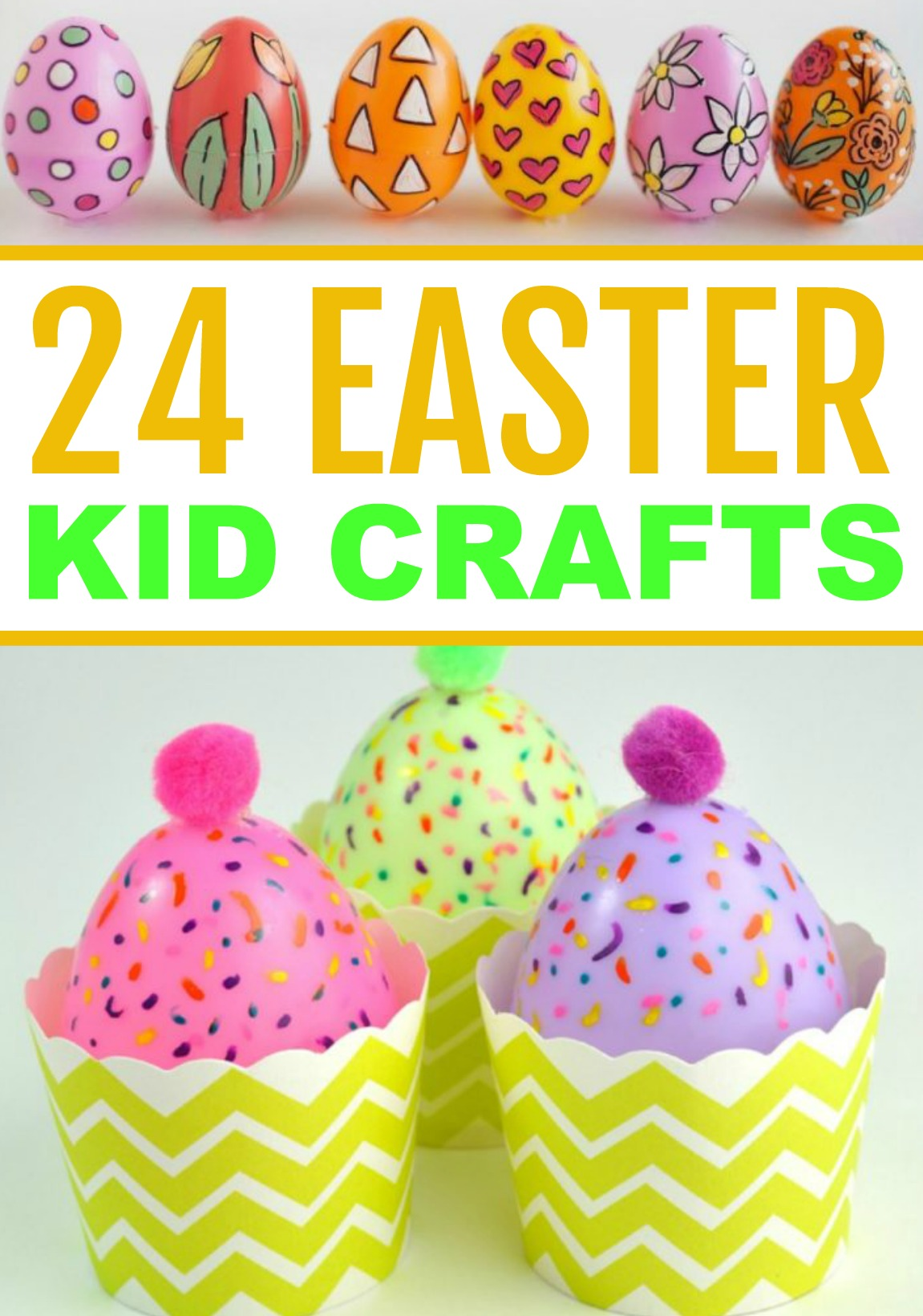 24 Easter Kid Crafts A Little Craft In Your Day
