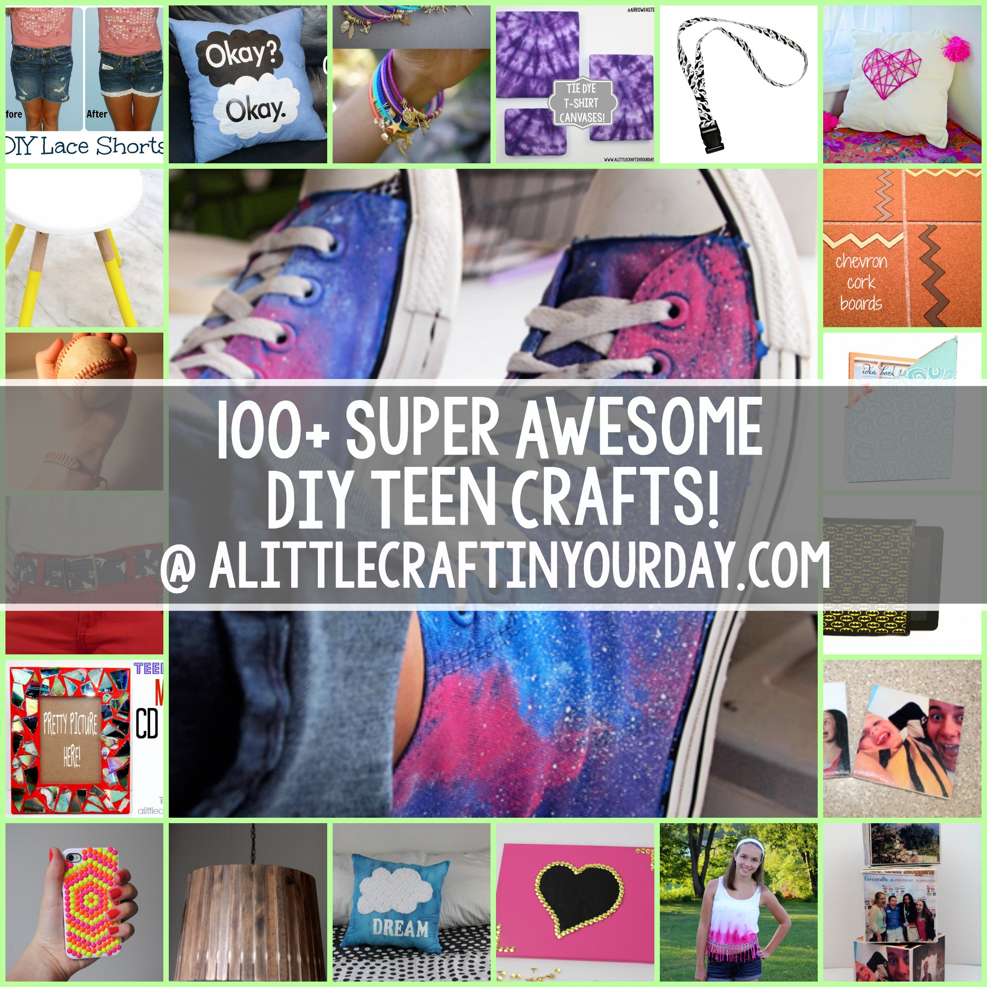 100 Super Awesome Crafts For Teens A Little Craft In Your Day