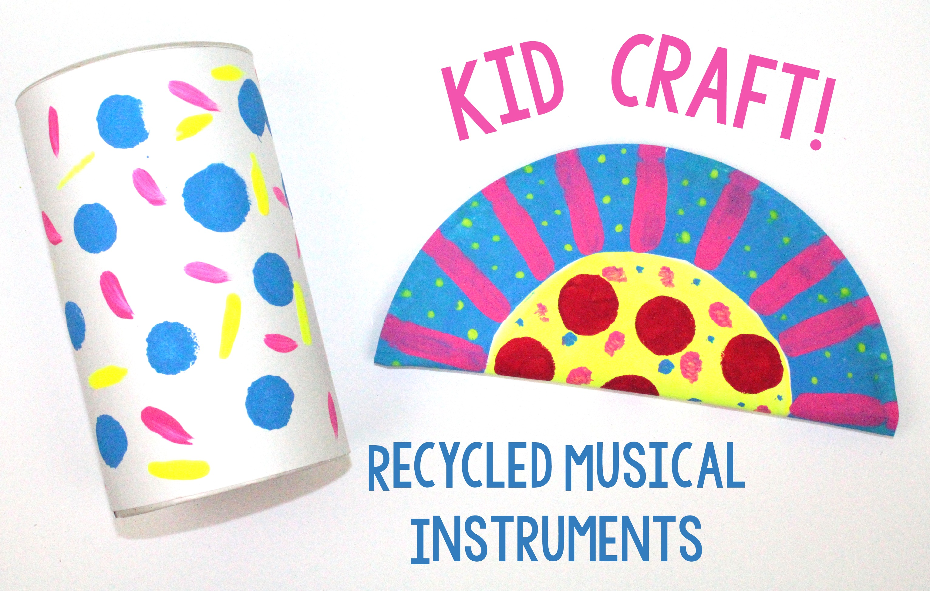 Recycled Musical Instruments A Little Craft In Your Day