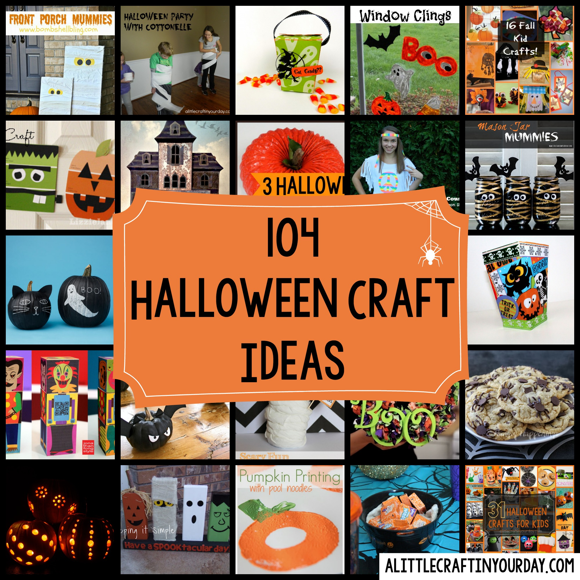 104 Halloween Craft Ideas A Little In Your Day