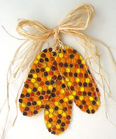 26 recycled fall crafts a little craft in your day for Simple crafts for seniors