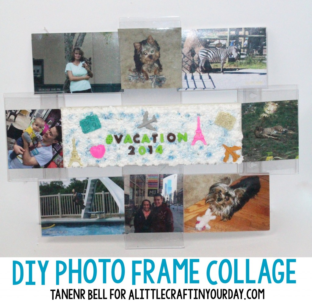 Diy Photo Frame Collage A Little Craft In Your Day
