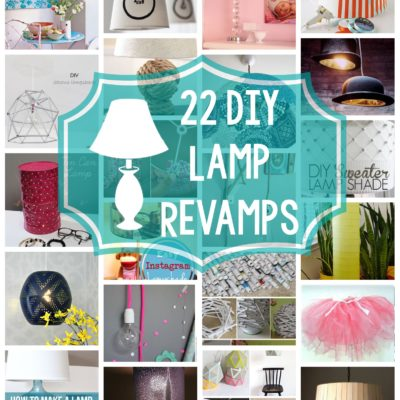 22 DIY Lamp Revamps thumbnail