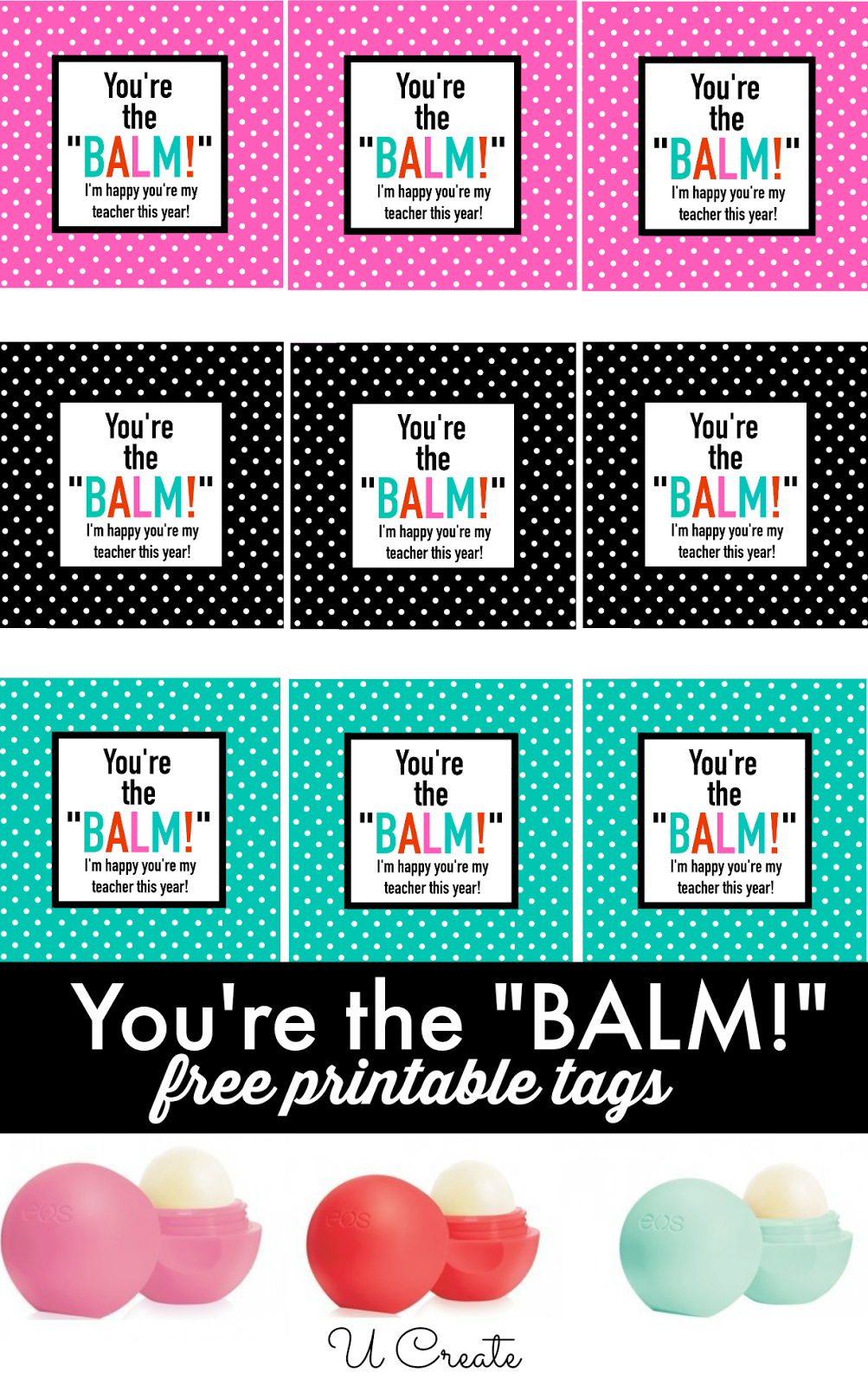free printables  you u0026 39 re the balm