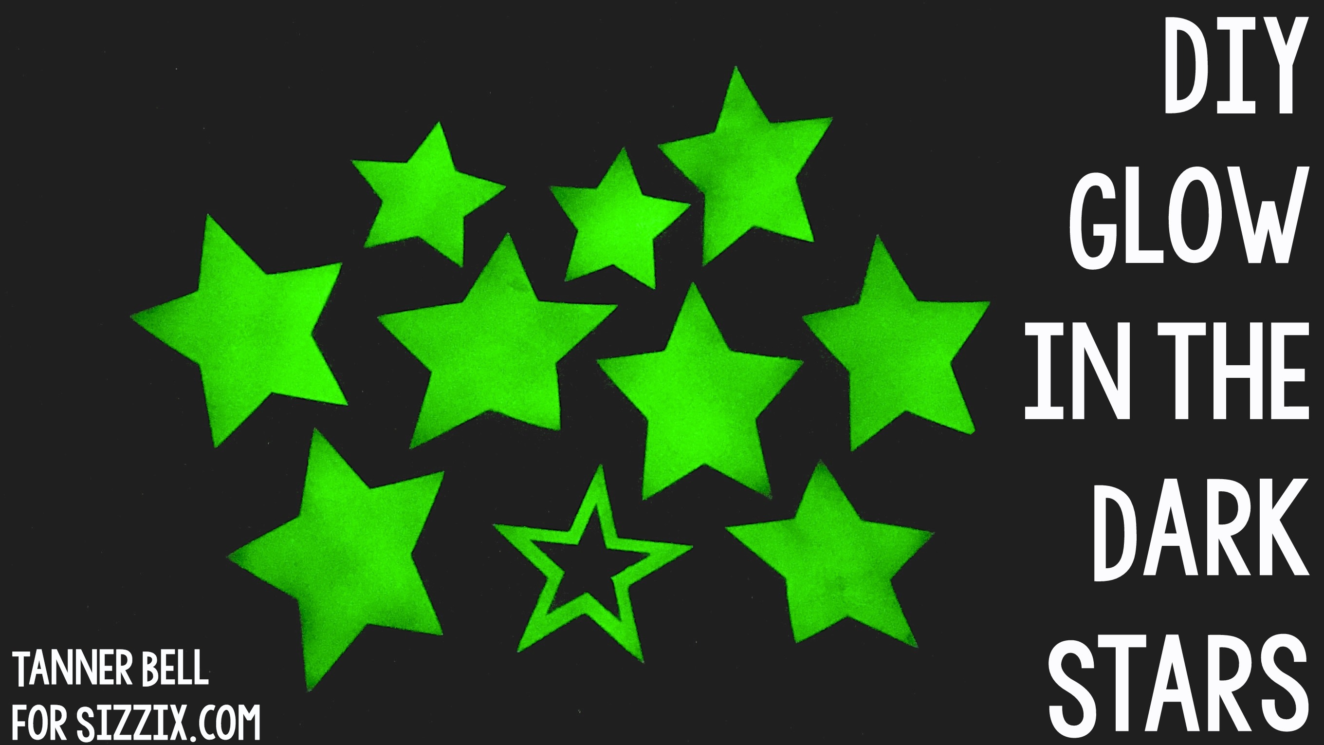 Diy Glow In The Dark Stars A Little Craft In Your Day