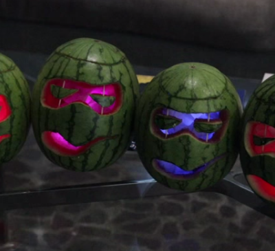 TMNT Halloween Watermelon Carving thumbnail