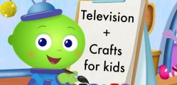 television_and_crafts_for Kids